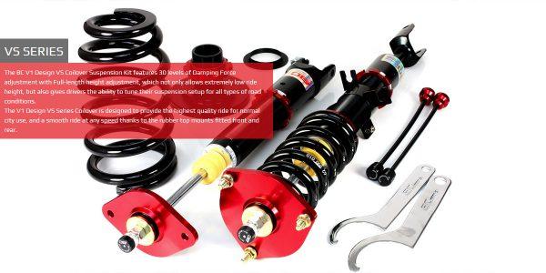 Nissan 350Z 03-09 Z33 BC-Racing Instelbare Verlagingsset / Schroefset  (Coilover Kit) V1-VS